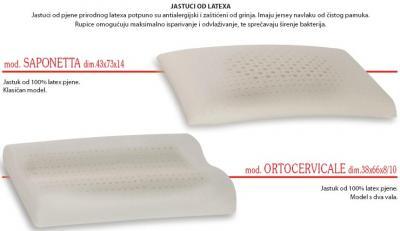 LATEX jastuk Lineaflex