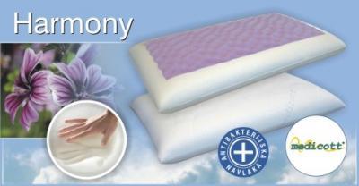 HARMONY jastuk od Memory i HR pjene s ekstraktom sljeza Hespo