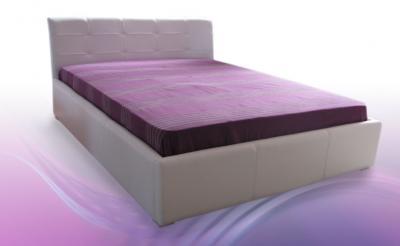 TIN U2S2 tapecirani krevet sa sandukom i metalnom podiznom podnicom