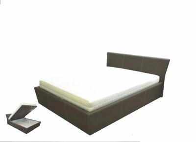 TIN U3S3 tapecirani krevet sa sandukom i metalnom podiznom podnicom