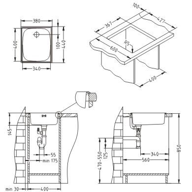BASIC 10 usadno korito 380x440 Alveus