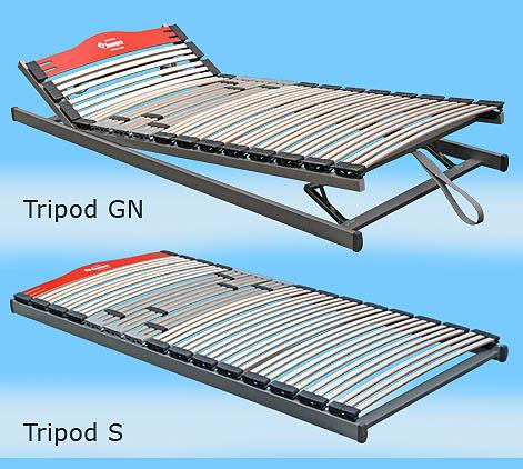 TRIPOD S elastična podnica Hespo