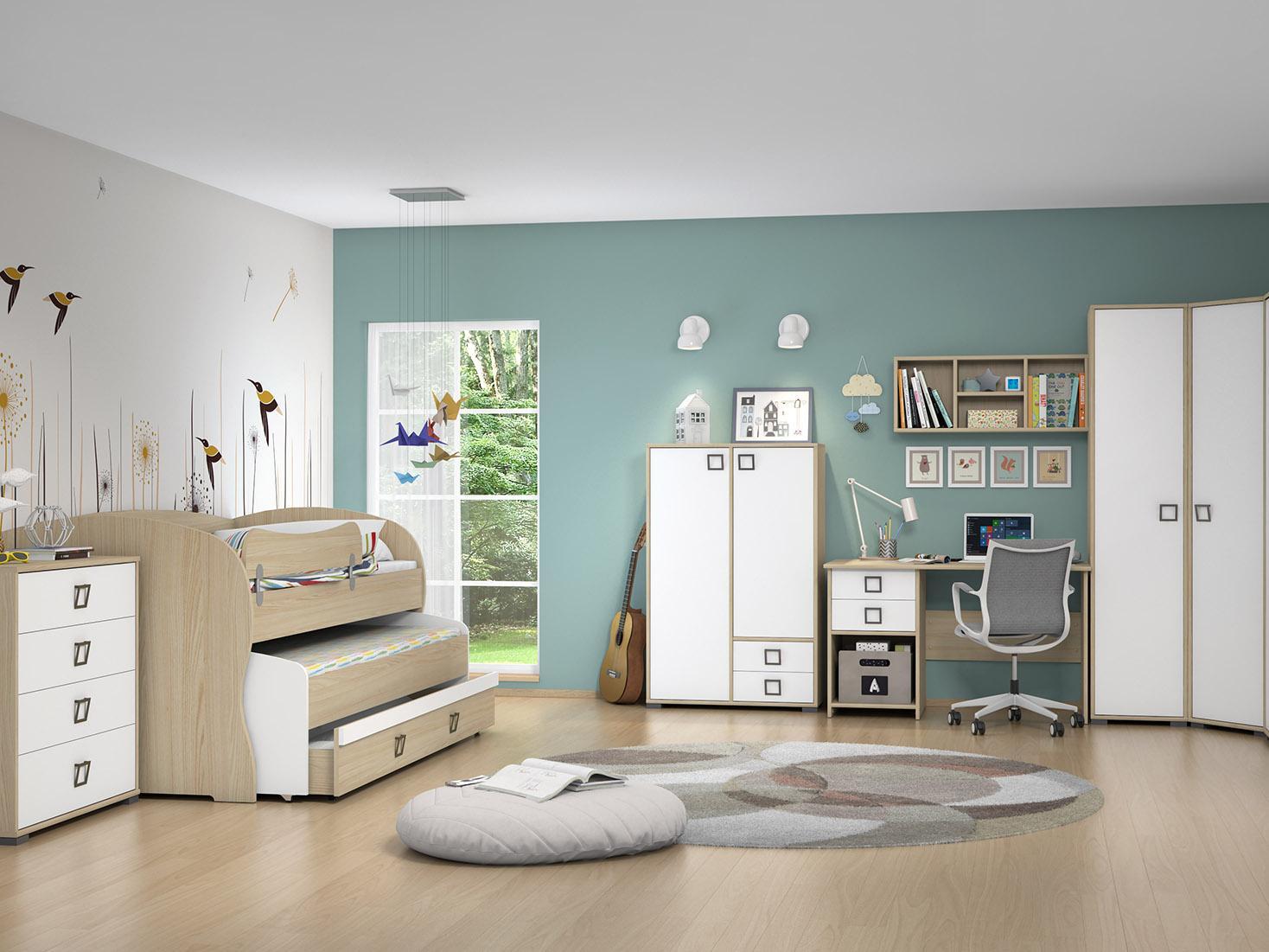 KIKI složiva dječja i omladinska soba Jela