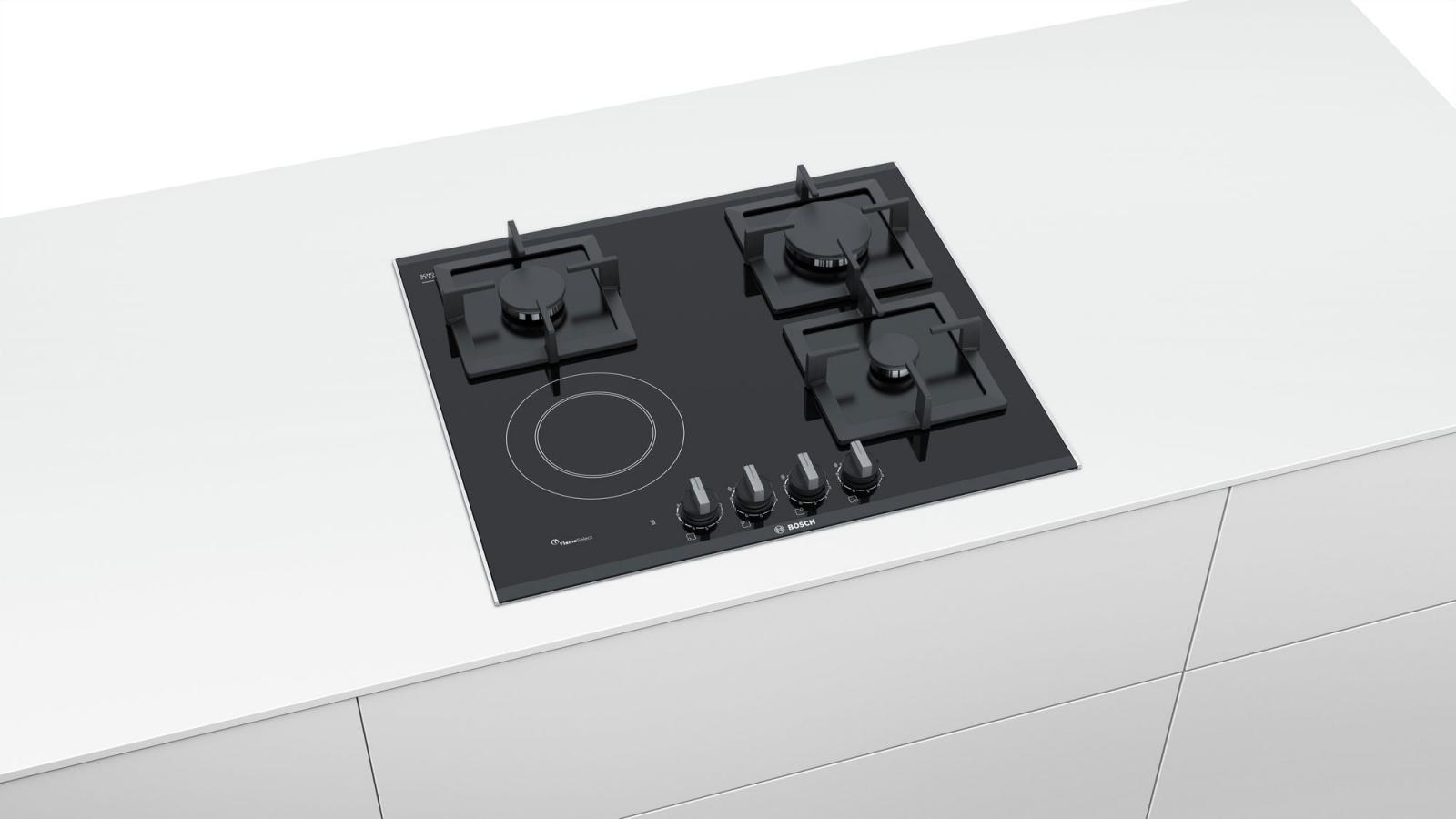 PSY6A6B20 kombinirana plinska ploča za kuhanje na staklokeramici Bosch