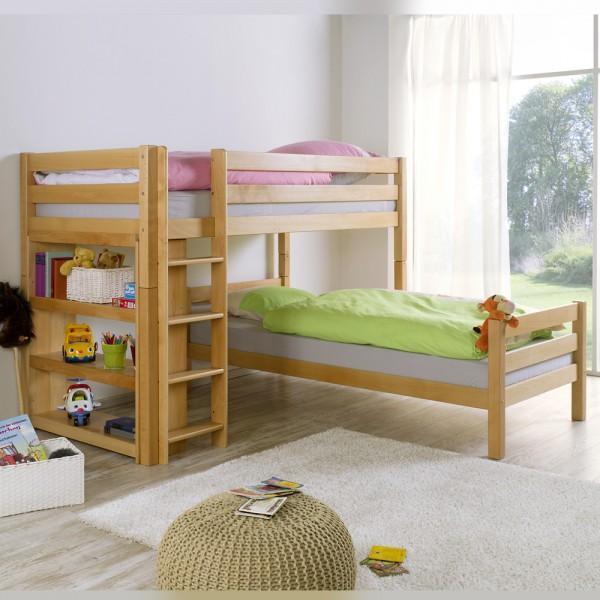AUSTIN L drveni krevet na kat FOR