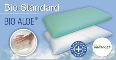 BIO STANDARD jastuk od Bio Aloe visco-elastične pjene Hespo