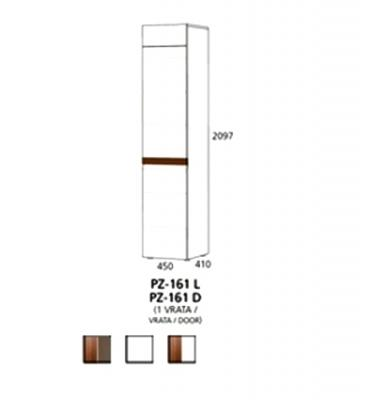 PZ-161 (L, D) visoki element - 1 vrata Prizma Alples