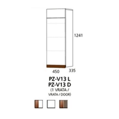 PZ-V13 (L,D) viseći element - 1 vrata Prizma Alples