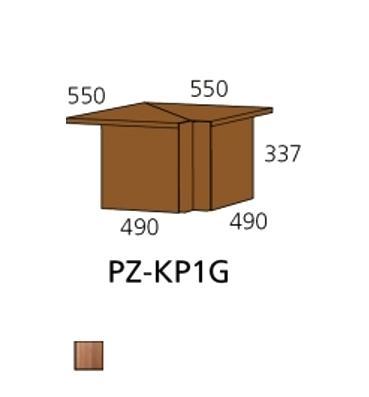 PZ-KP1G kutna ploča Prizma Alples
