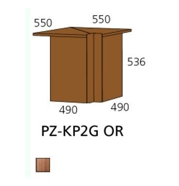 PZ-KP2G OR kutna ploča Prizma Alples