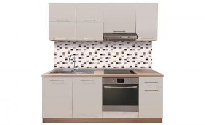 EMA STD 200 glosmax krem-sonoma blok kuhinja