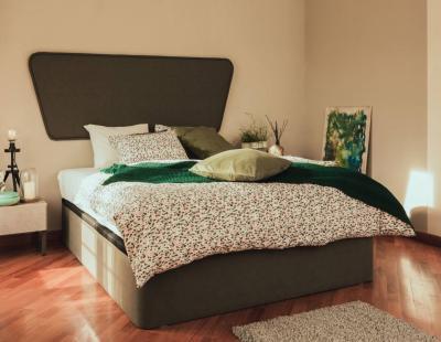 SMART tapecirani krevet Hespo