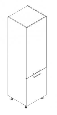VIG60KHI kolona za hladnjak, 2 vrata VIGGO