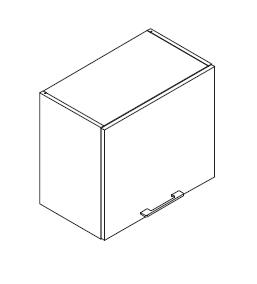 VIG60VENI gornji element za napu, 1 vrata  VIGGO