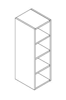 KOR30BOV96I vertikalni gornji otvoreni element 96cm VIGGO