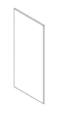 OB60BDPI završna obloga za element pećnice 132cm VIGGO