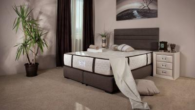 CORONA tapecirani box krevet MOJ