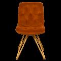 C-027M drvena stolica sa met. nogama MAH